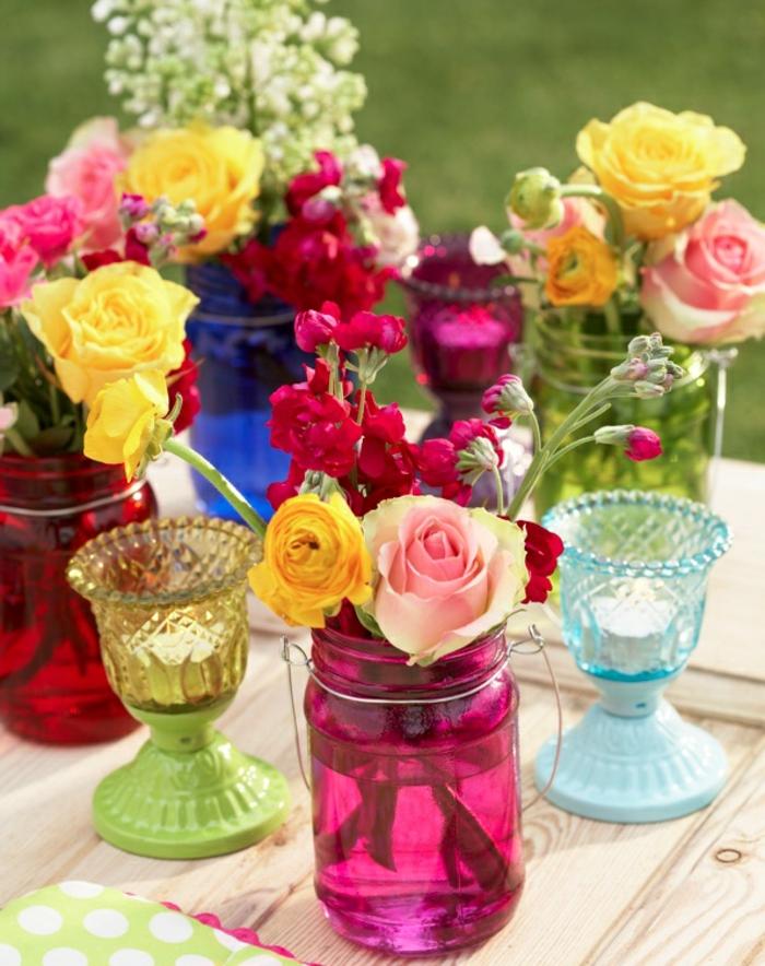 cruche-vase-transparent-vase-boule-verre-vase-rond-en-verre-colorés-fleurs-roses