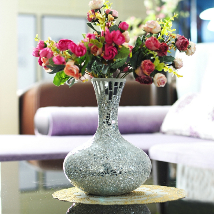 cruche-vase-transparent-vase-boule-verre-vase-rond-en-verre-miroir-fleurs-roses-jolie