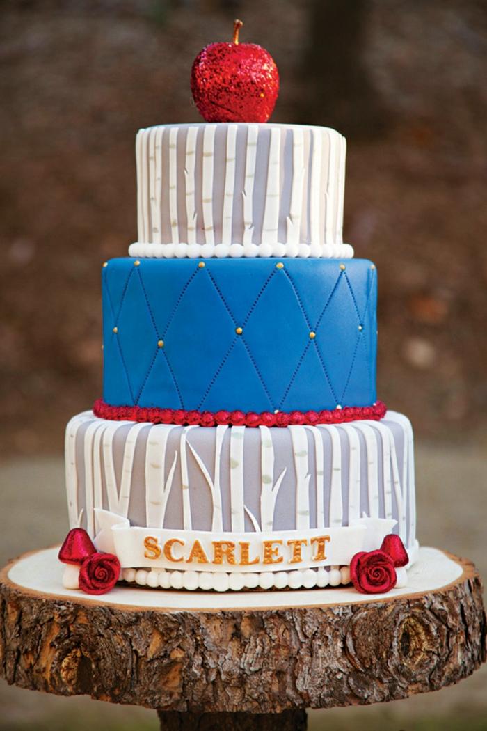 déco-table-anniversaire-enfant-blanche-neige-et-les-sept-nains-gâteau-bon-réalisation