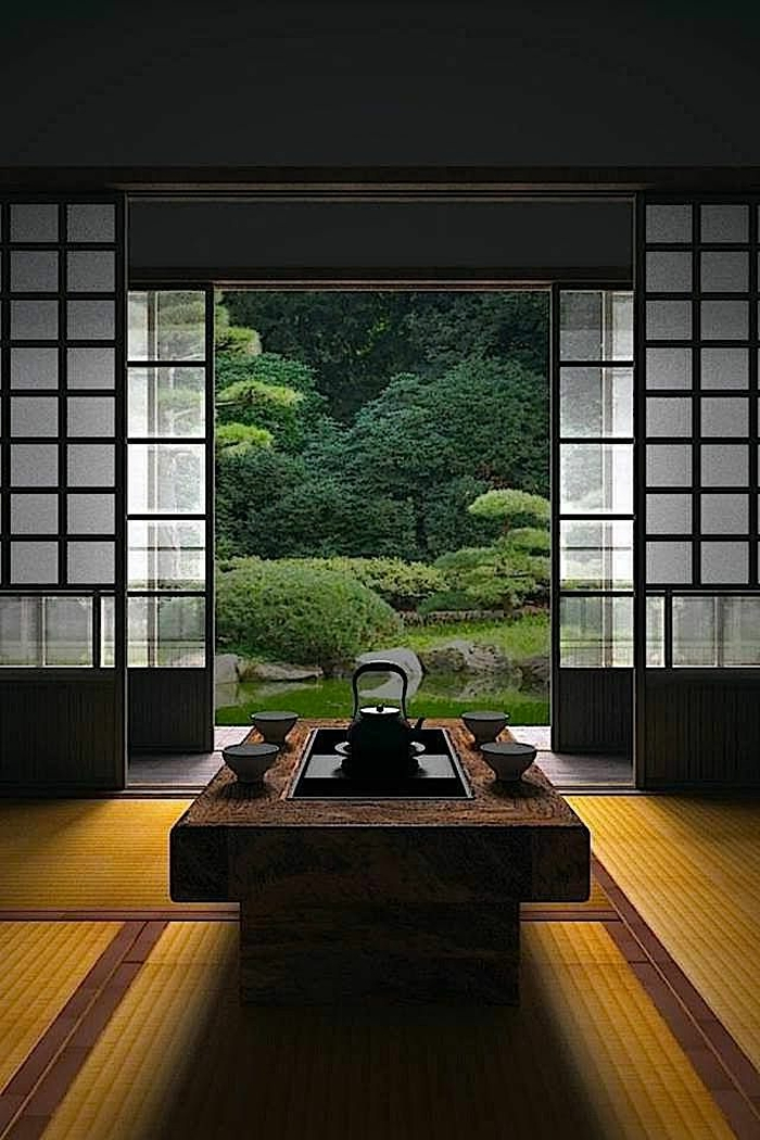 La d coration japonaise et l 39 int rieur japonais en 50 photos for Meuble deco japonaise
