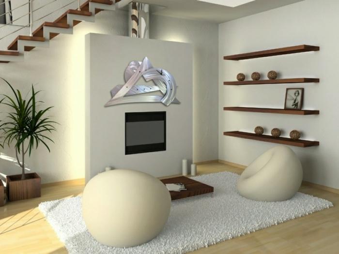 décoration-murale-en-métal-appartement-loft