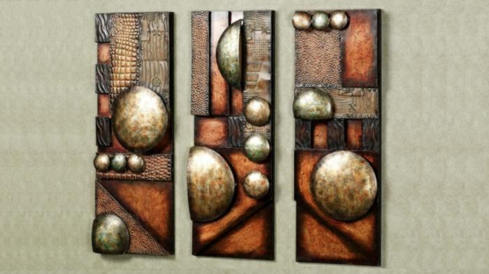 décoration-murale-en-métal-art-abstrait-panneaux-muraux