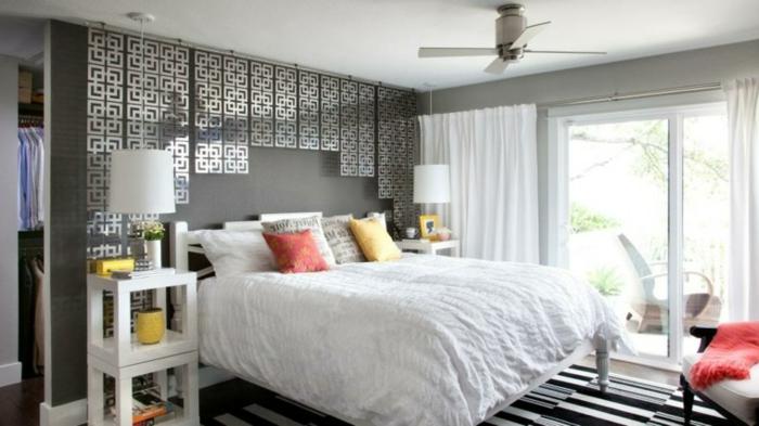 décoration-murale-en-métal-chambre-à-coucher