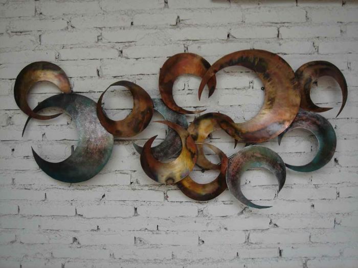 décoration-murale-en-métal-composition-abstraite