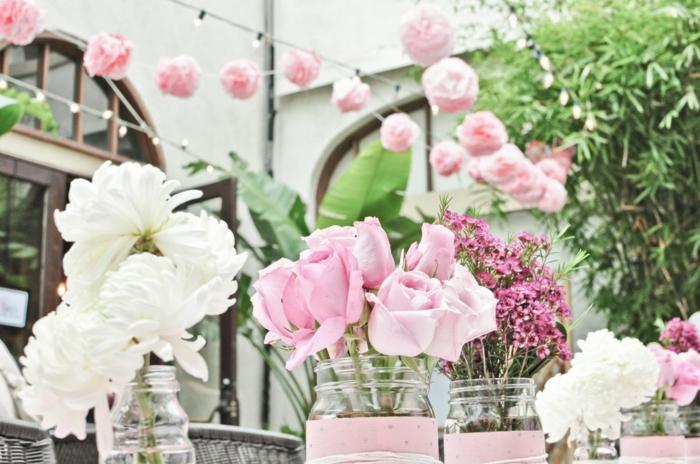 deco-pour-mariage-magasin-deco-mariage-idée-diy-belles-fleurs-roses-blanches-et-roses