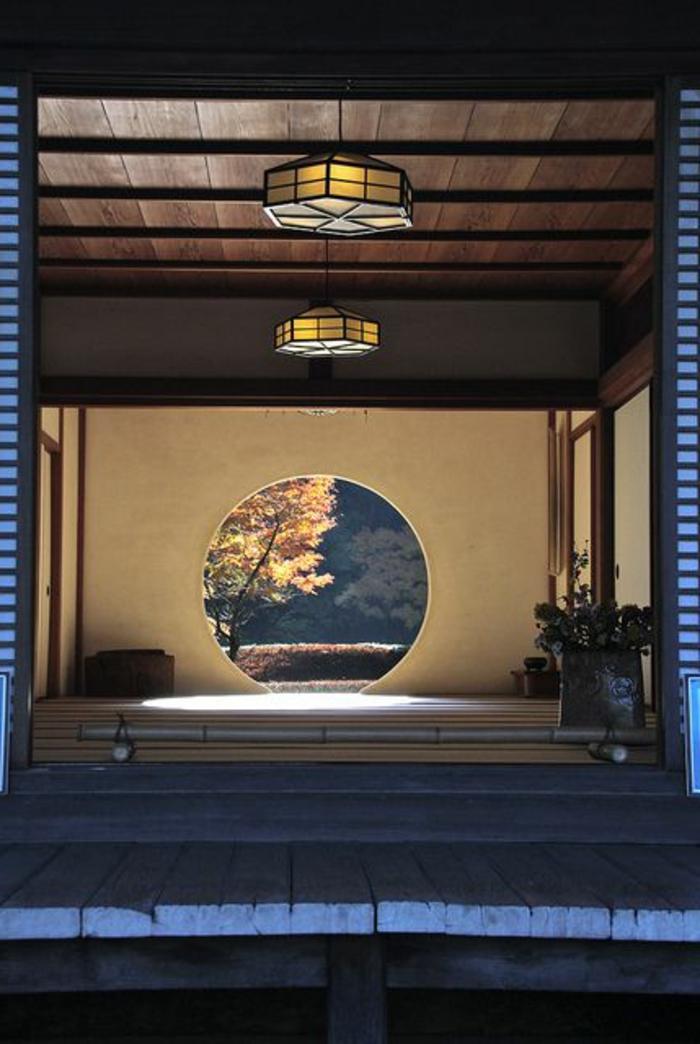 decoration-asiatique-meubles-de-style-japonais-deco-japonaise-fenetre-ronde-de-style-japonais