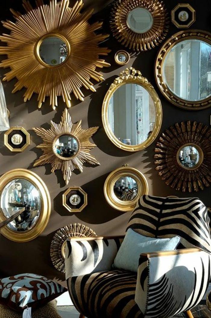 Le miroir d coratif en 50 photos magnifiques for Decoration miroir