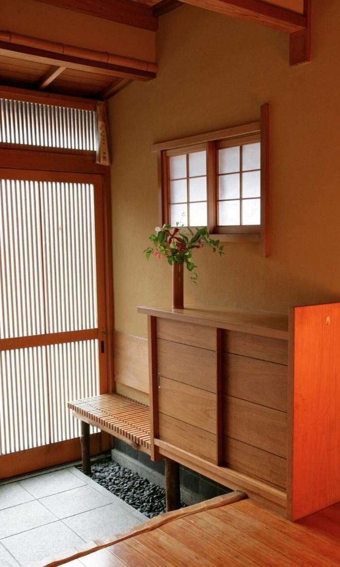 decoration-chinoise-meubles-en-bois-carrelage-gris-intérieur-meubles-en-bois