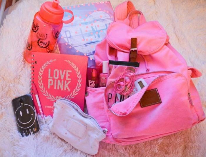 des-choses-nécessaires-pour-l-education-école-school-supplies-cahiers-crayons-organiser-cool-rose-resized