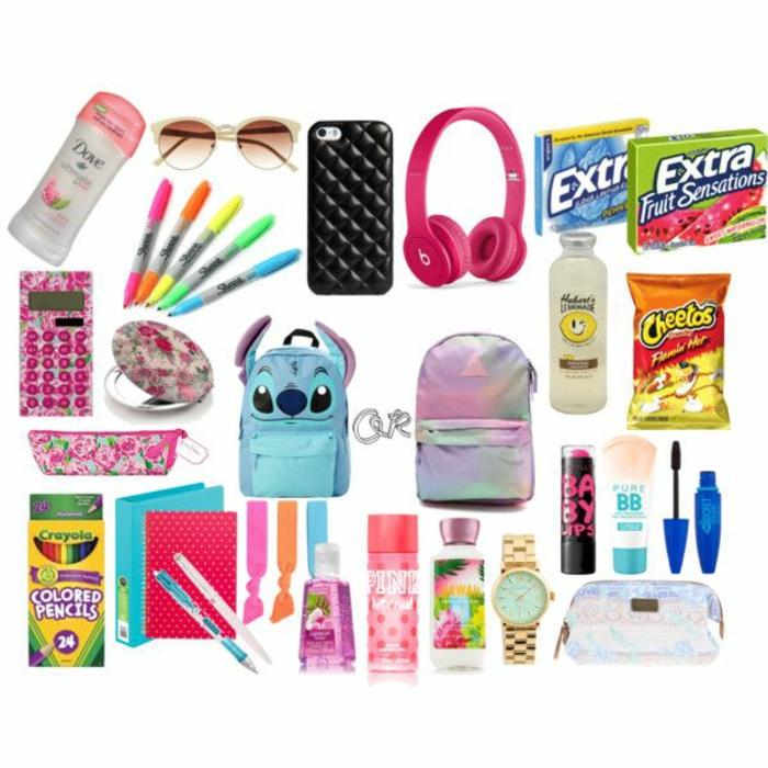 des-choses-nécessaires-pour-l-education-école-school-supplies-cahiers-crayons-organiser-cool-survival-kit-resized