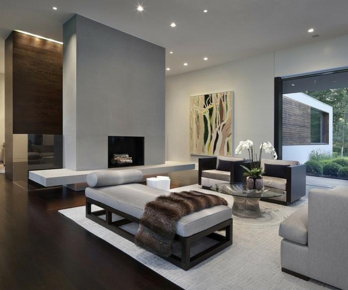 des-séparations-de-pièces-panneau-séparateur-de-pièce-salon-gris-moderne