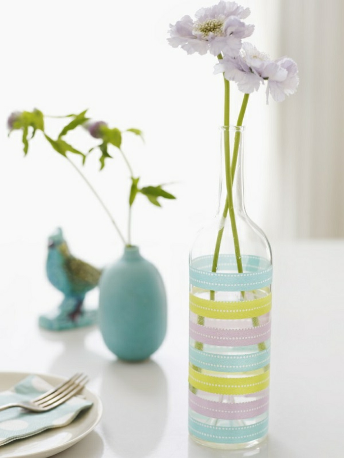 Idee deco grand vase transparent for Idee deco vase