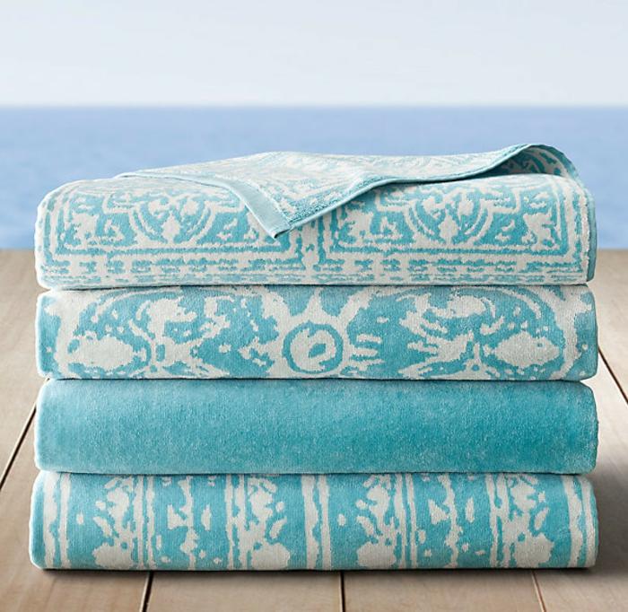 drap-de-bain-serviette-de-toilette-ponchos-serviette-éponge-bleu-claire-mer-resized