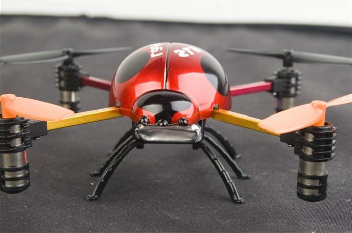 drone-télécommandé-coccinelle-volante
