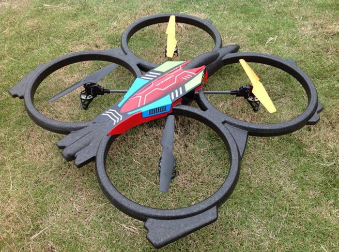 drone-télécommandé-grand-copter-avec-télécommande