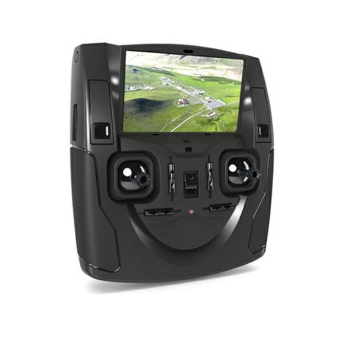 drone-télécommandé-télécommande-et-écran