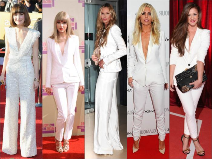 ensemble-tailleur-pantalon-femme-pas-cher-tailleur-pantalon-femme-blanc-allure-blanc-coutumes-femme-célébre