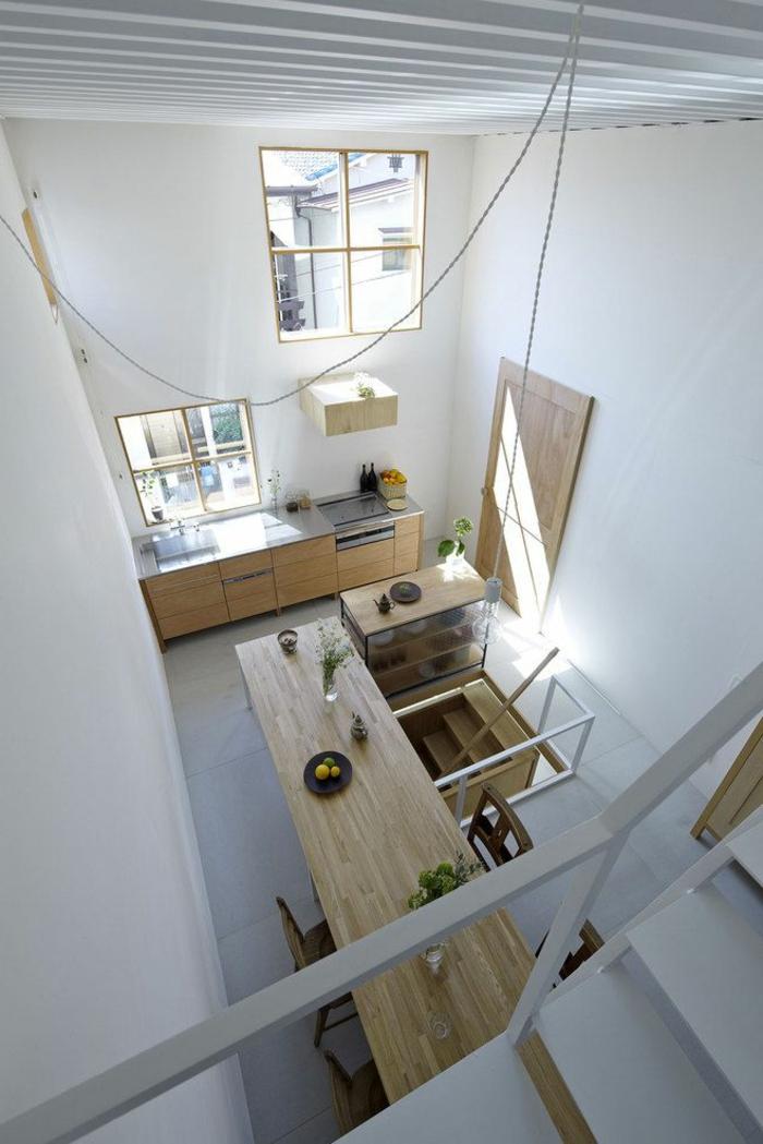 esprit-loft-décoration-japonaise-style-japonais-meubles-en-bois-clair-sol-en-carrelage-gris