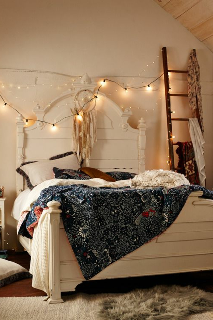 Plusieurs id es pour faire une t te de lit soi m me for Idee pour decorer une chambre