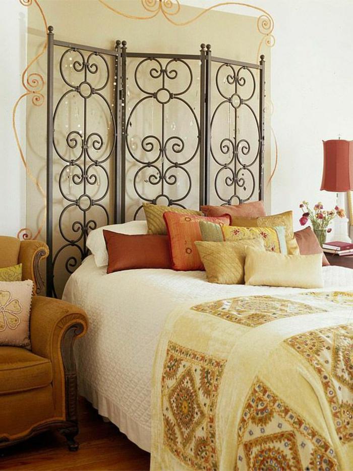 Plusieurs idées pour faire une tête de lit soimême