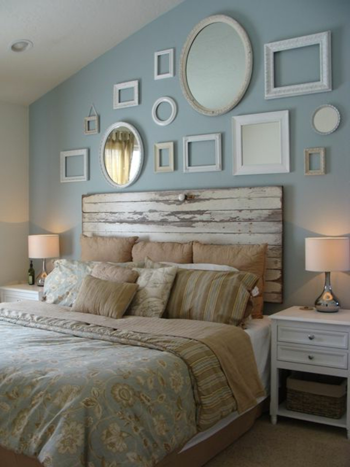 Chambre Grise Bebe : faire une tête de lit soi-même, fabriquer une tete de lit en vieille …