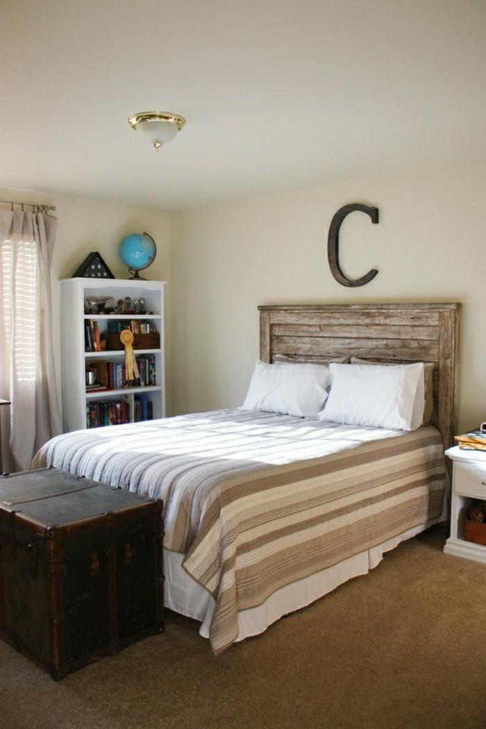 Palet Bed Frame White