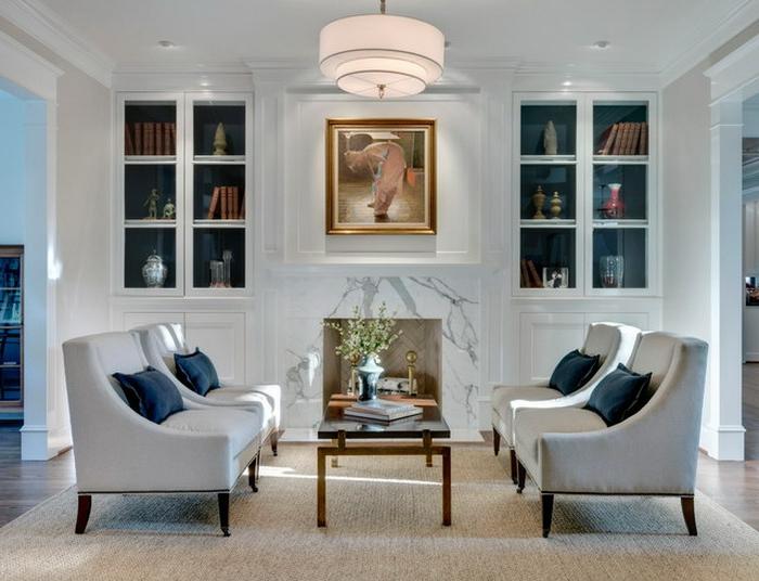 fauteuil-blanc-pièce-magnifique-avec-fauteuils-blancs