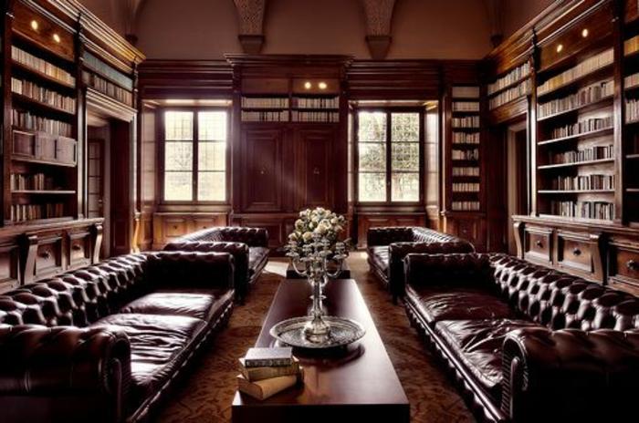 Le canap club quel type de canap choisir pour le salon - Les meubles de salon ...