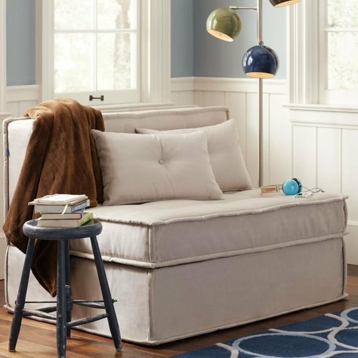 fauteuil-convertible-lit-1-place-ikea-idée-pièce-petite-canapé-belle-transformable-canapé-une-place-fauteuil