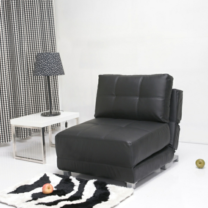 fauteuil lit 1 place convertible creteil design. Black Bedroom Furniture Sets. Home Design Ideas