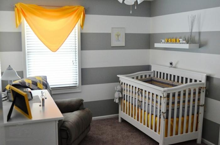 fauteuil-convertible-pour-le-salon-stylé-design-d-intérieur -chambre-bébé-en-gris