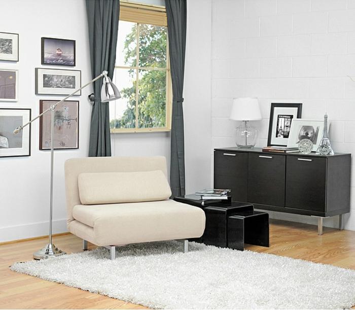 fauteuil-convertible-pour-le-salon-stylé-design-d-intérieur-noir-et-blanc