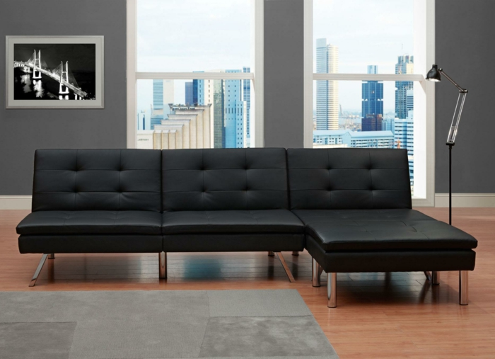 fauteuils-convertibles-design-une-place-fauteuil-canapé-en-cuir-moderne-salle-de-sejour