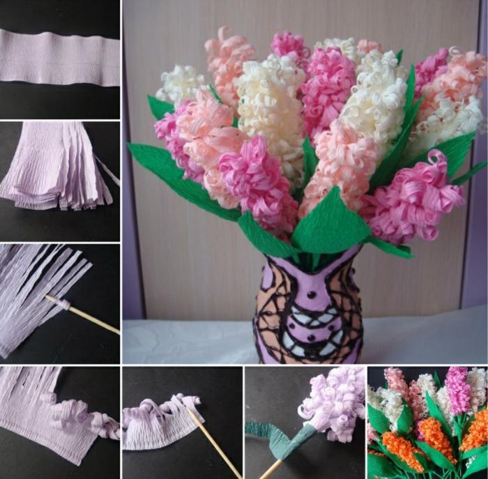fleur-en-papier-crepon-art-origami-béauté-fleur-en-papier-crepon