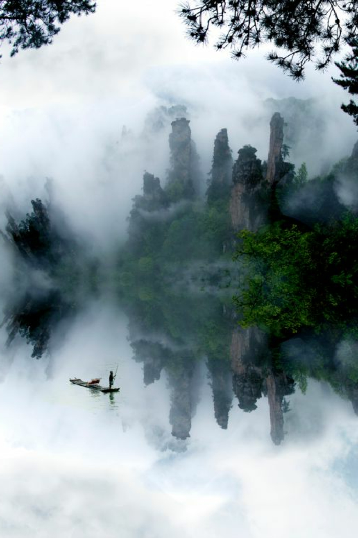 Scenery wallpaper fond d 39 ecran gratuit paysage paradisiaque for Fond d42cran gratuit