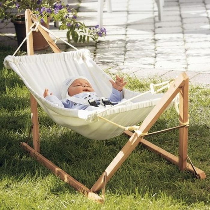 Hamac chaise sur pied hamac yaqui x cm coton polyester - Hamac suspendu sur pied ...