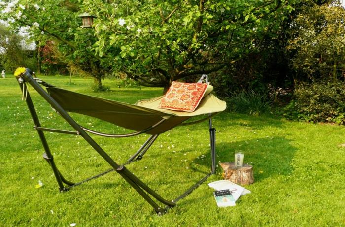 Comment choisir le meilleur hamac sur pied id es en photos for Ameublement de jardin pas cher