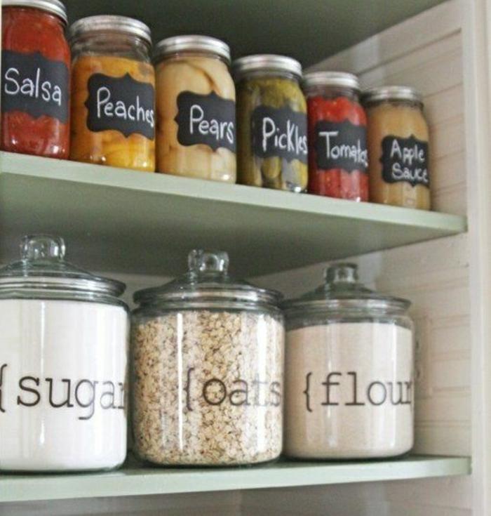 idée-bonbonnière-en-verre-pour-la-deco-chambre-fille-ado-dans-la-cuisine-ranger-aménager