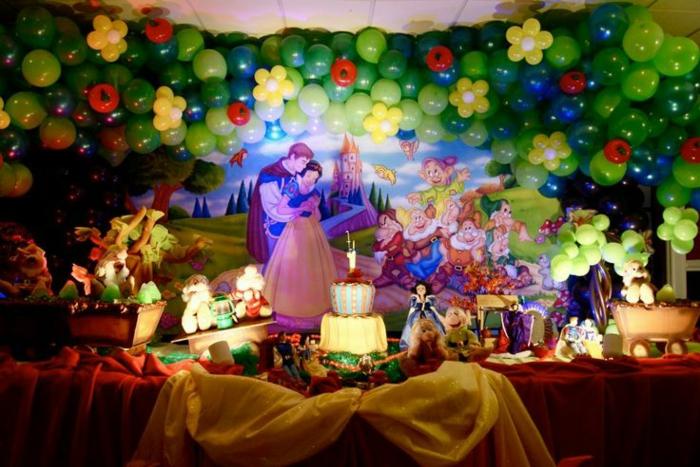 La Blanche Neige et les sept nains - idées décoration festive ...