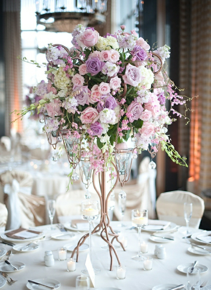 Id Ef Bf Bde Salle Mariage Decor Ef Bf Bd Blanc Floral