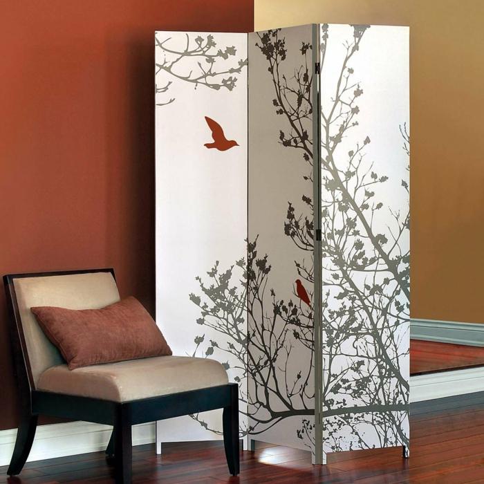idée-originale-séparation-pièce-meuble-séparateur-de-pièce-ikea-belle-paravant