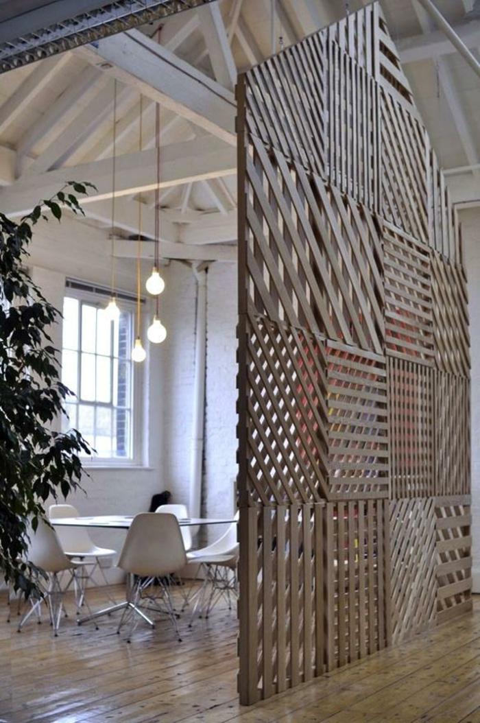idée-originale-séparation-pièce-meuble-séparateur-de-pièce-ikea-bois-idée-créative