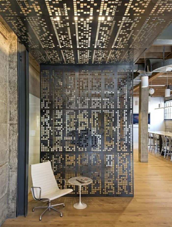 idée-originale-séparation-pièce-meuble-séparateur-de-pièce-ikea-fer-studio-industriel-loft