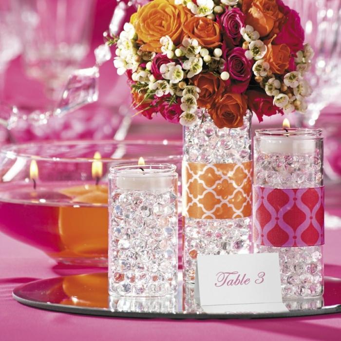 idées-déco-mariage-à-faire-soi-même-deco-de-table-mariage-table-8-bougies