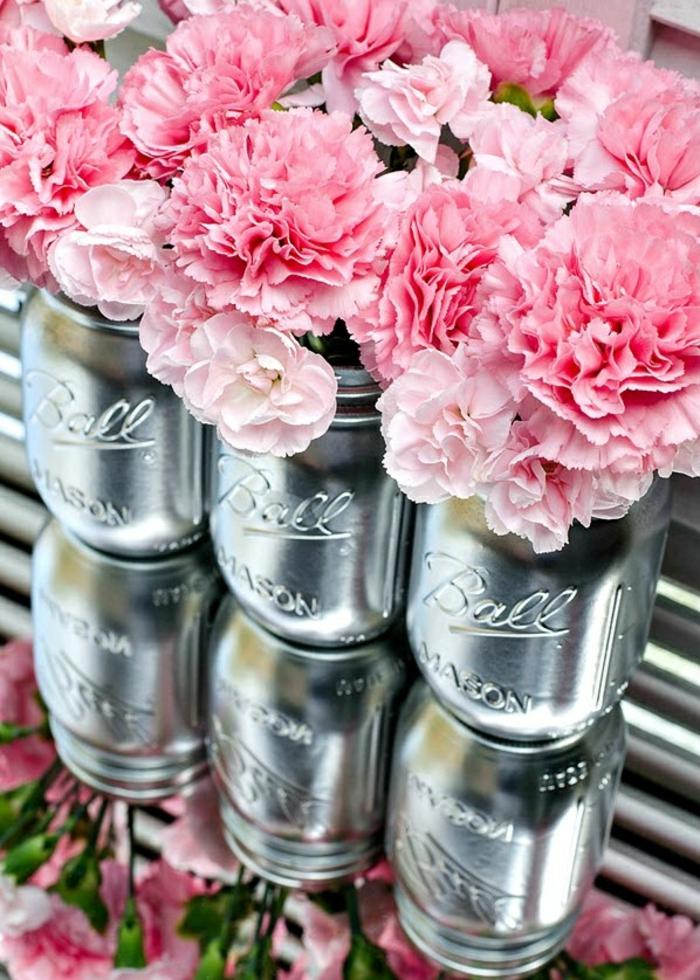 idées-déco-mariage-deco-mariage-pas-cher-diy-belle-fleur-vase-originale