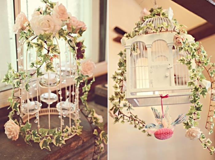 idées-déco-mariage-deco-mariage-pas-cher-diy-cage-fleurs-rose