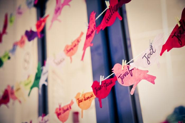 idées-déco-table-mariage-deco-voiture-mariage-à-faire-soi-même-guireland-noms-mariées