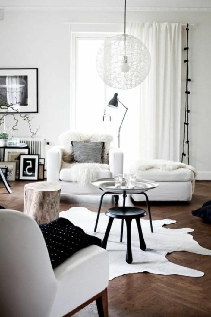 idées-pour-votre-intérieur-avec-le-fauteuil-canapé-convertible-blanche