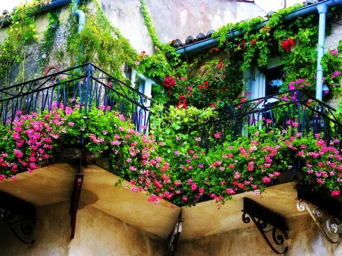 comment avoir un balcon fleuri idees en 50 photos With idee pour amenager son jardin 12 comment avoir un balcon fleuri idees en 50 photos