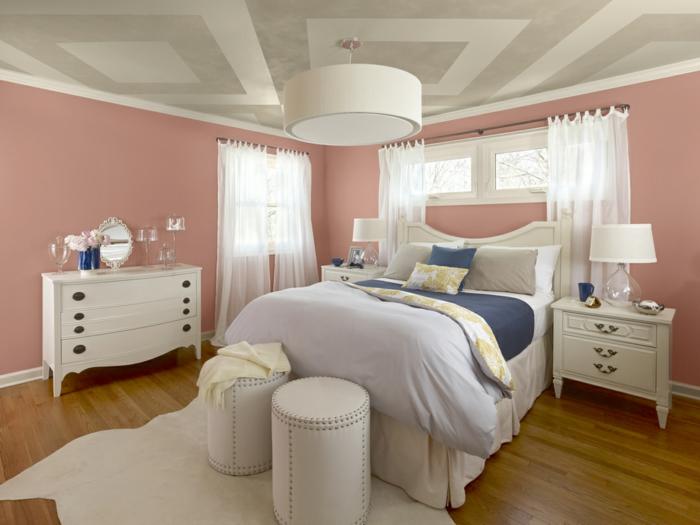 La suite parentale beaucoup d id es en 52 photos inspirantes for Quelle couleur pour une chambre parentale